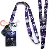 Nightmare Before Christmas Jack  Lanyard , ID Holder