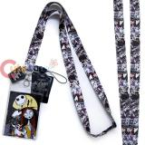 Nightmare Before Christmas Lanyard Multi Characters ID Holder