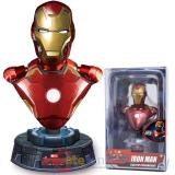 Marvel  Age of Ultron Iron Man Light Up Resin Bust Paperweight