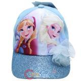 Disney Frozen Elsa  Anna Kids Hat Adjustable Baseball Cap Ice Corsage