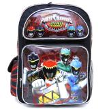 Power Rangers Large School Backpack 16in Book Bag - Dino Zords