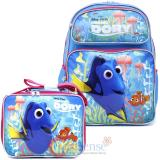 Finding Dory Large School Backpack Lunch Bag Set - Pink Coral