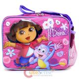 Dora The Explorer Dora & Boots Kids Lunch Bag Box Lovely Flowers