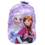 Disney Frozen Hat Adjustable Baseball Cap Purple Snowflakes