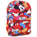Disney Mickey Mouse Large School Backpack Friends All Over Prints