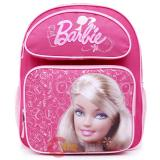 Barbie  School Backpack 14in Medium Pink Jewels Bag
