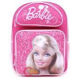 Barbie  School Backpack 16in Large Pink Jewels Bag