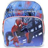 "Marvel SpiderMan School Toddler Backpack 10"" Small Sling Web in City"
