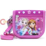 Disney Frozen Elsa String Wallet  Shoulder Strap Mini Shoulder Bag Pink