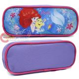 Disney Princess Little Mermaid Ariel Zippered  Pencil Case Pouch Bag