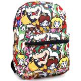 Nintendo Supermario Large School Backpack All Over Prints