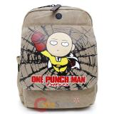 One Punch Man Saitama Backpack Canvas Large