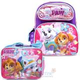 "Paw Patrol  12"" Small School Backpack Lunch Bag 2pc Set with Skye Everest"