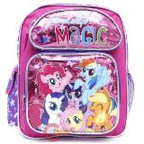 My Little Pony School Backpack 12in  Book Bag -Friendship