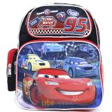 "Cars Mcqueen School Backpack 12"" Medium Bag - Race Tracks"