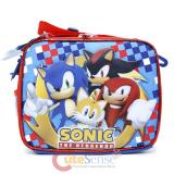 Sonic The Hedgehog School Lunch Bag Insulated Snack Box  - Checkers
