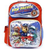 "Nickelodeon Paw Patrol Large School Backpack 16"" Boys Bag On a Roll"