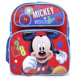 "Disney Mickey Mouse School Backpack 12"" Medium  Bag - M28"
