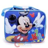 Disney Mickey Mouse School Lunch Bag Insulated Snack Box - M28