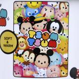 Disney Tsum Tsum Plush Microfiber Throw Blanket Twin