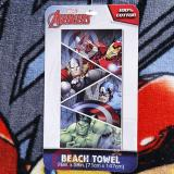 Avengers Heroes Beach  Bath Towel - Iron Man , Thor, Hulk and Captain America