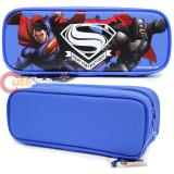 Batman V Superman Pencil Case Stationery Pouch Bag - Blue
