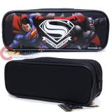 Batman V Superman Pencil Case Stationery Pouch Bag - Black