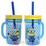 Despicable Me Minions Can Jar Tumbler with Handle 12oz