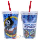 Thomas Tank Engine Tumbler Drinking Bottle with Straw 13oz