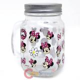 Disney Minnie Mouse Mason Jar with Handle