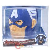 Marvel Avengers Captain America Face Molded Ceramic Mug in Box