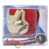 Marvel Avengers Iron Man Face Molded Ceramic Mug in Box