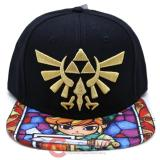 The Legend of Zelda Stained Glass TriForce Snapback Trucker