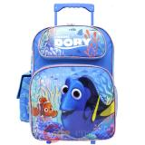 "Finding Dory Large Roller Backpack 16"" Rolling Wheeled Bag"