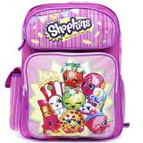 "Shopkins Medium School Backpack 14"" Girls Book Bag Pink"