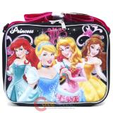 Disney Princess School Lunch Bag : Black Pink