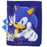 Sonic The Hedgehog Trifold Kids Wallet