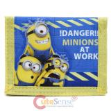 Despicable Me Minions Kids Trifold Wallet - Minions at Work