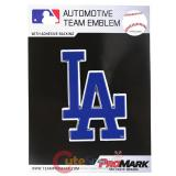 MLB LA Dodgers Team Logo Auto Car Emblem  Color Logo