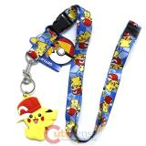 Pokemon Lanyard Pikachu Hat
