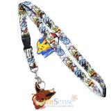 Pokemon Lanyard Eevee Evolution