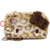 Hello Kitty PL Fur Pouch Bag BR