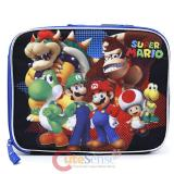 Nintendo Super Mario School Lunch Bag Insulated Box - Team Black