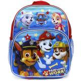 "Paw Patrol 10"" School Backpack Toddler Bag - Paw Some Work"