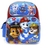 "Paw Patrol  Medium School Backpack 12"" Boys Bag - Paw Some Work"