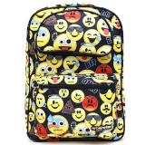 Emoji Large School Backpack - All Over Prints Emojination 17in