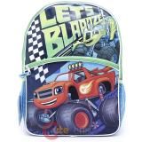 "Nick Blaze Large school backpack 16"" Lught Up Book Bag -Lets Blaaze"