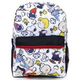 Peanuts Large School Backpack All Over Prints Bag -Cartoon AOP