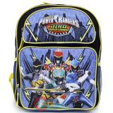 Power Rangers Medium School Backpack 14in Book Bag - Dino Super Charge