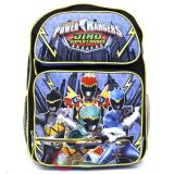Power Rangers Large School Backpack 16in Book Bag - Dino Super Charge